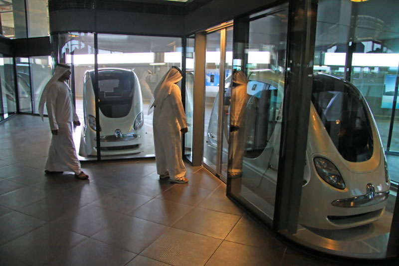 Driverless podcars could provide sustainable solution to Dubai traffic congestion